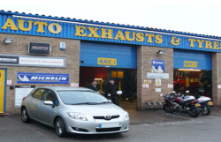 Auto Exhaust And Tyres 4 Tyre Fitting Centre Lincoln Ln67qy